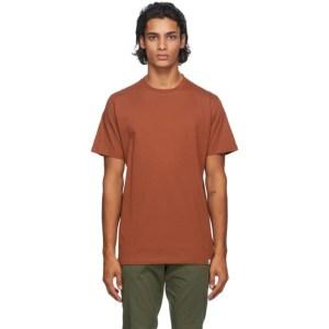 Norse Projects Orange Niels Standard T-Shirt
