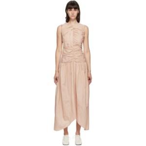 Markoo Pink Gathered Dress