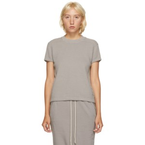 Rick Owens Drkshdw Taupe Thermal Level T-Shirt