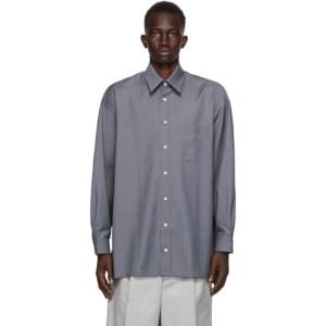 UNIFORME Grey Cool Wool Shirt