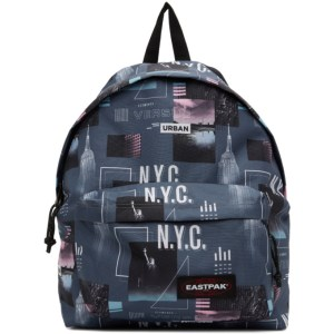 Eastpak Grey Padded Shapes Pakr Backpack