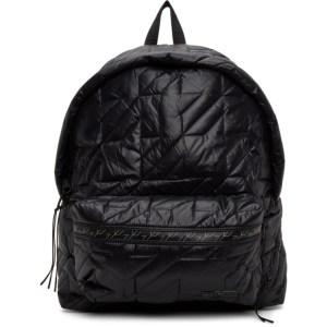 Eastpak Black Puffa Padded Backpack
