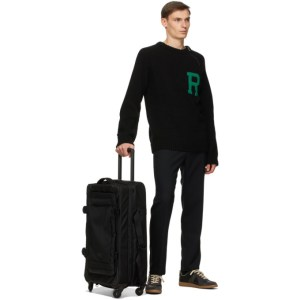 Eastpak Black Large Trans4 CNNCT Suitcase