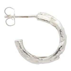 WWW. WILLSHOTT Silver Single Crown Of Thorns Earring