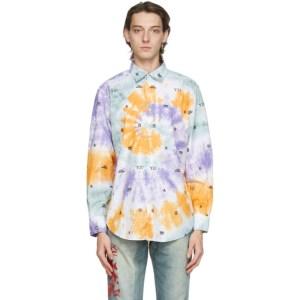 Aries Multicolor Tie-Dye 3D Monogram Shirt