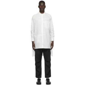 Y-3 White Long Classic Shirt