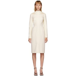 Situationist SSENSE Exclusive Off-White Open Back Dress