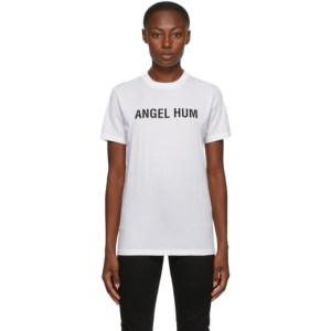 Helmut Lang SSENSE Exclusive White Angel Hum T-Shirt