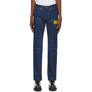 Helmut Lang Indigo Industry Masc Lo Utility Jeans