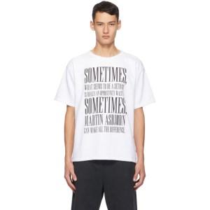 Martin Asbjorn White Liam T-Shirt