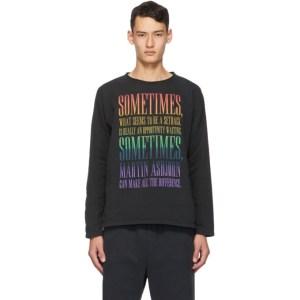 Martin Asbjorn Black Liam Long Sleeve T-Shirt