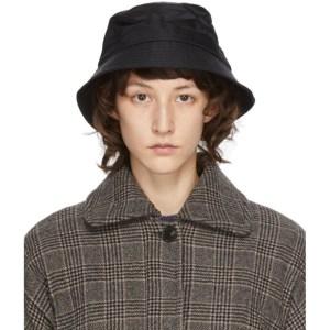 YMC Black Bucket Hat