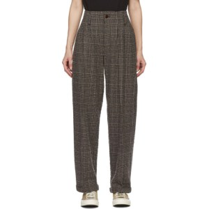 YMC Brown Keaton Trousers