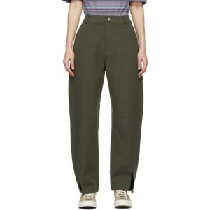 YMC Green Liz Trousers