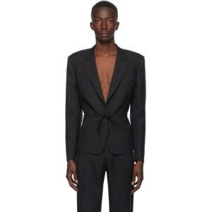 Random Identities Black Tie Blazer