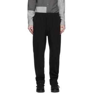 Engineered Garments Black Fleece Lounge Pants