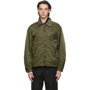 Engineered Garments Green Flight Driver Bomber Jacket