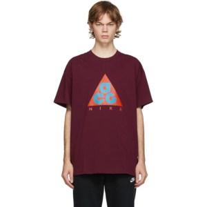 Nike ACG Burgundy Logo T-Shirt