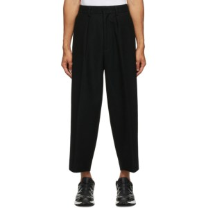 Fumito Ganryu Black Bulky Trousers