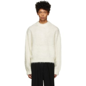 Fumito Ganryu Off-White Dolman Sleeve Sweater