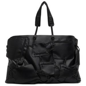 Innerraum SSENSE Exclusive Black Weekend Multi-Compartment Duffle Bag