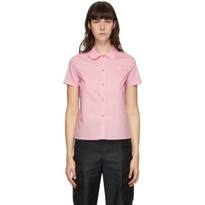 Marc Jacobs Pink Heaven by Marc Jacobs Tiny Teddy Collared Short Sleeve Shirt