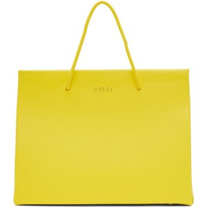 Medea Yellow Hanna Chain Shoulder Bag