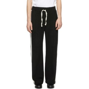 Casablanca Black Terrycloth Lounge Pants
