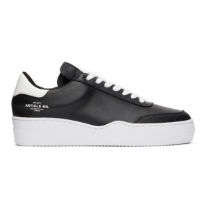 Article No. Black Casual Running Low-Top Sneakers