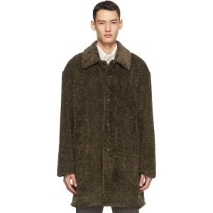 Deveaux New York Brown Faux-Fur Coat