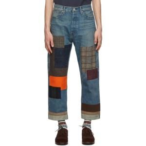 Junya Watanabe Blue Selvedge Denim Jeans