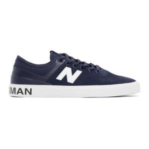 Junya Watanabe Navy New Balance Edition Numeric 379 Sneakers
