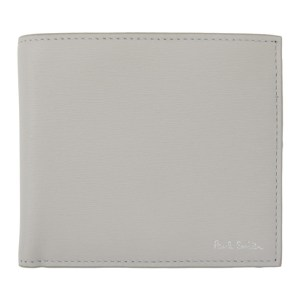 Paul Smith Grey Straw Wallet