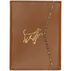 Paul Smith Tan Credit Card Holder