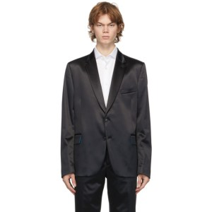 Paul Smith Navy Satin Soho Blazer