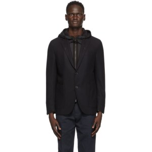 Ermenegildo Zegna Navy Wool Travel Jacket