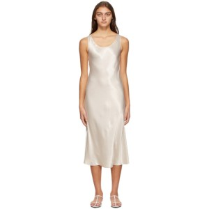Max Mara Leisure Off-White Talete Dress