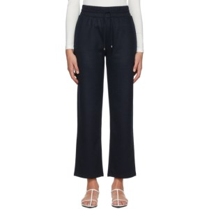 Max Mara Leisure Navy Wool Rita Lounge Pants