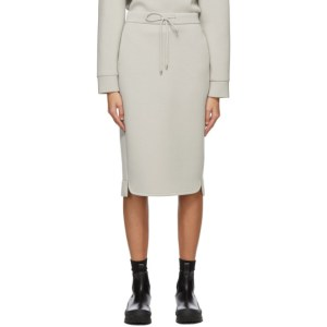 Max Mara Leisure Grey Ozioso Mid-Length Skirt