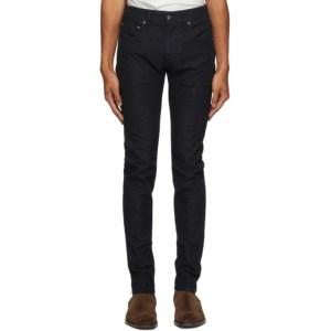 Etro Navy Paisley Jeans