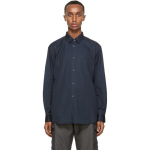 Comme des Garcons Shirt Navy Classic Forever Shirt