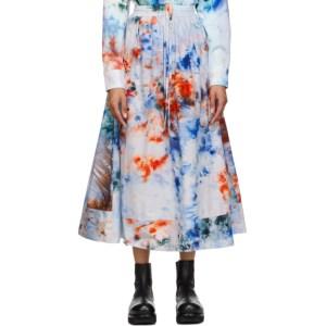 S.R. STUDIO. LA. CA. Blue SOTO Hand-Dyed Skirt