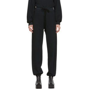 Raquel Allegra Black Drawstring Lounge Pants