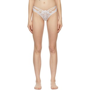Agent Provocateur White Essie Thong