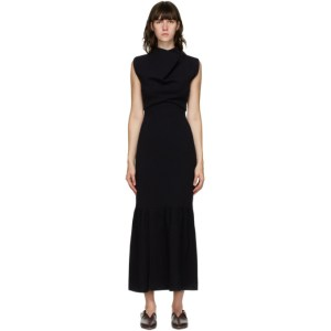 3.1 Phillip Lim Navy Cowl Neck Dress