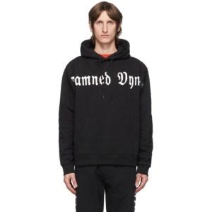 Vyner Articles Black Damned Logo Hoodie