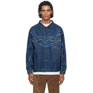 Ahluwalia Blue Denim Signature Jacket