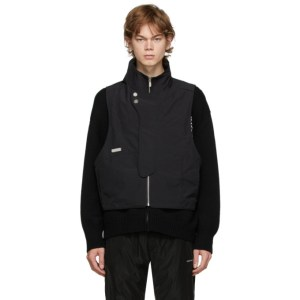 C2H4 Black Memory Layered Sweater