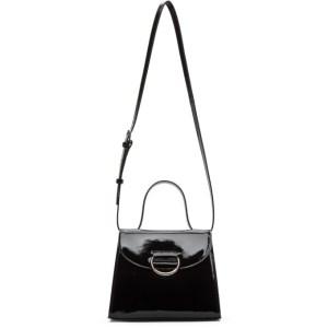Little Liffner Black Naplak Patent Lady Bag