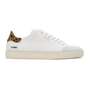 Axel Arigato White Animal Triple Clean 90 Sneakers